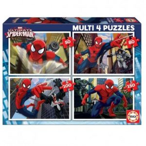 Детски пъзел Educa Ultimate Spiderman