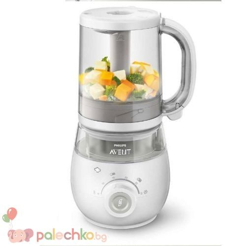 Комбиниран уред за здравословна бебешка храна 4в1 Philips Avent