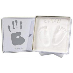 Магична кутия BabyArt квадратна бяла
