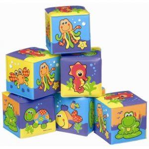 Меки кубчета за баня PlayGro