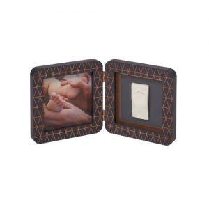 Отпечатък BabyArt Print Dark Grey Copper квадратен