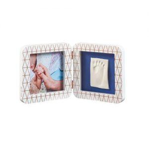 Отпечатък BabyArt Print White Copper квадратен