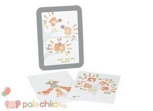 Рамка за отпечатък с боички за Деня на майката BabyArt