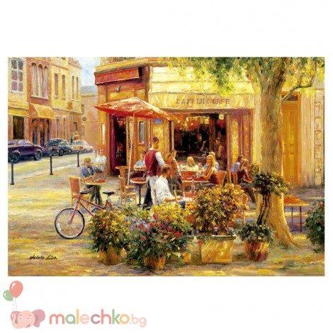 Пъзел Educa Corner Cafe, Haixia Liu
