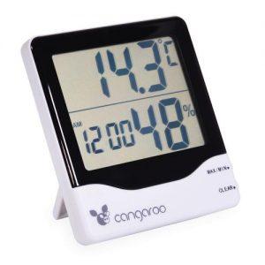 Термометър с дигитален часовник Cangaroo