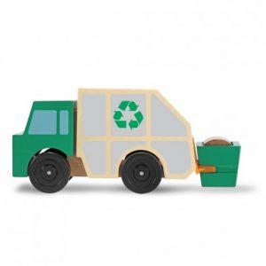 Дървен боклукчийски камион Melissa&Doug