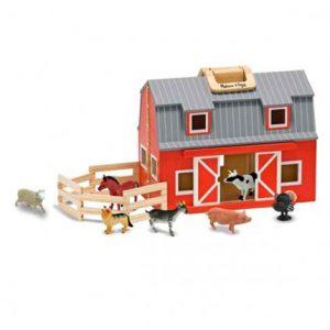 Дървен конюшня с кончета Melissa&Doug