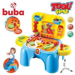 Детски комплект с инструменти за малкия майстор Buba Tool First