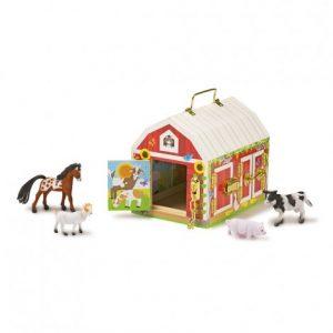 Къща със закопчалки Melissa&Doug