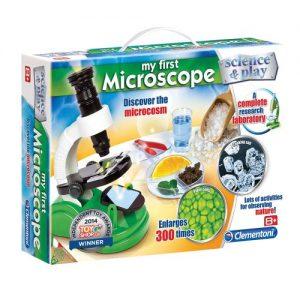 Комплект Моят първи микроскоп Clementoni