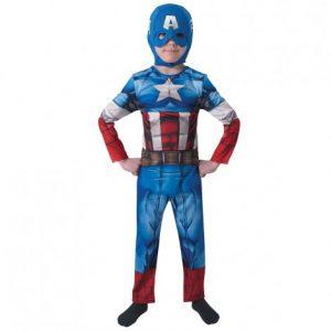 Костюм Rubies Avengers Капитан Америка S-L
