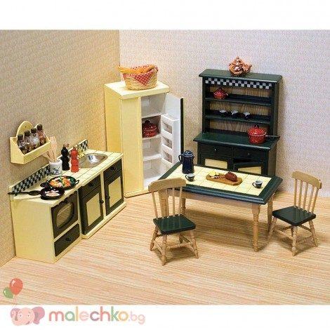 Кухненски мебели за къща за кукли Melissa&Doug
