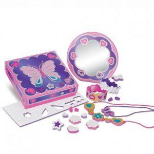 Кутия за бижута Melissa&Doug Пеперуда