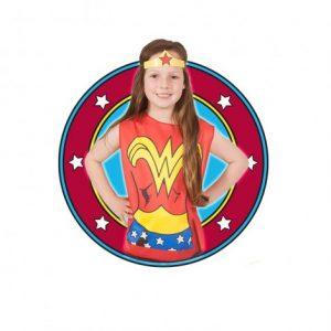 Тениска с маска Rubies Wonder Woman