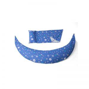 Възглавница за бременност и кърмене 10в1 Nuvita DreamWizard Синя