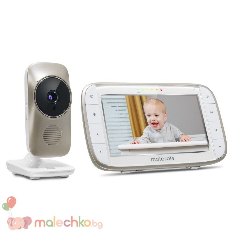 Бебефон Motorola MBP845Connect с камера и Wi-Fi