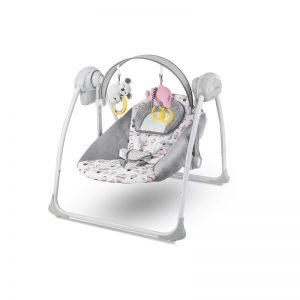 Бебешка люлка 2в1 KinderKraft Flo Розова