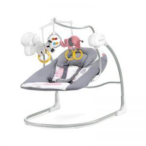 Бебешка люлка 2в1 KinderKraft Minky Розова