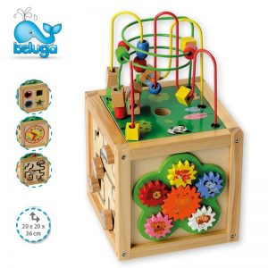 Играчка образователен куб Beluga