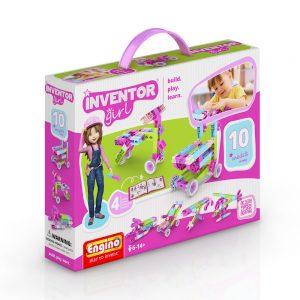 Конструктор 10 модела за момичета Engino Inventor