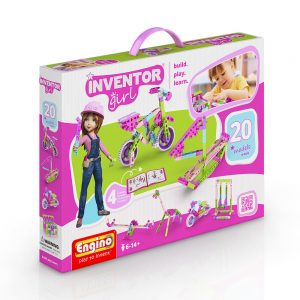 Конструктор 20 модела за момиче Engino Inventor