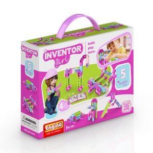 Конструктор 5 модела за момиче Engino Inventor