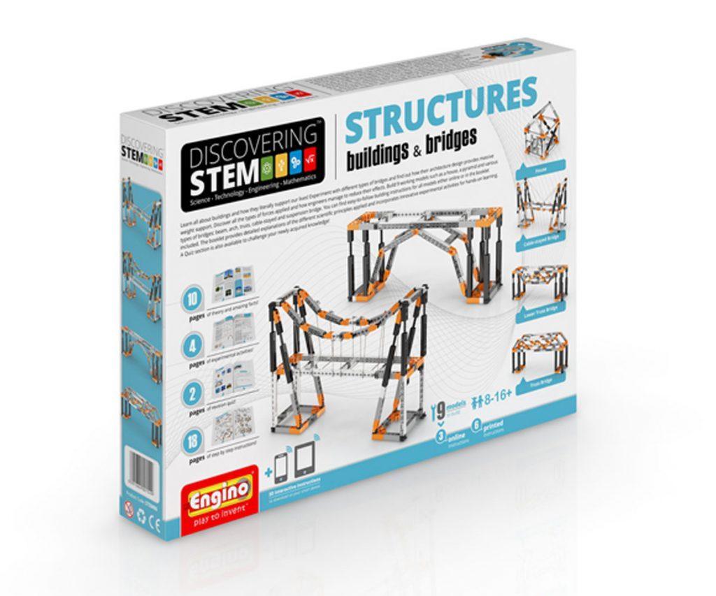 Конструктор Сгради и мостове Engino Stem