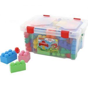 Конструктор в кутия Polesie Toys Малък строител