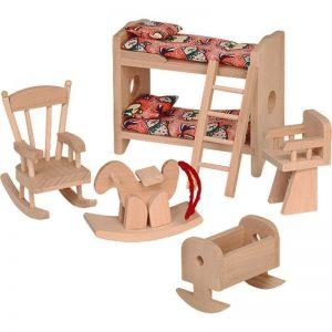 Мебели за къща за кукли Beluga Детска стая