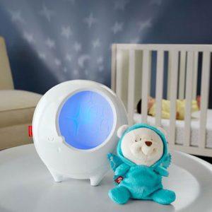 Музикална лампа-прожектор Fisher Price с плюшена играчка