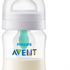 Шише за хранене Philips AVENT AirFree 125 мл 0 м+