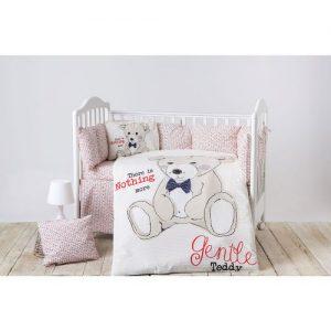 Спален комплект от 6 части Kikka Boo Teddy Bear 60120 см