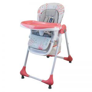 Столче за хранене Baby Mix Junior Розов