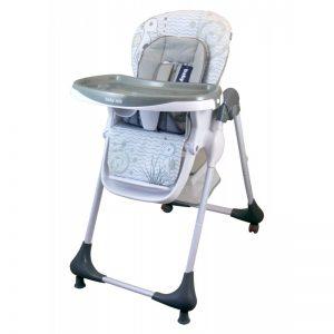 Столче за хранене Baby Mix Junior Сив