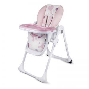 Столче за хранене KinderKraft Yummy Розово