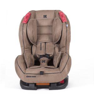Столче за кола Kikka Boo Regent Brown + Isofix