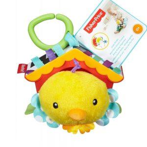 Занимателна играчка с пиленце Fisher Price