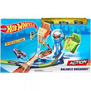 Игрален комплект Hot Wheels Писта Разбивам баланса