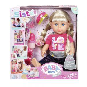 Кукла с дълга коса и аксесоари Baby Born
