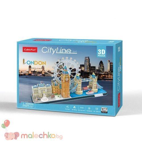 Пъзел 3D CobicFun City Line London