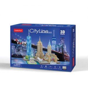 Пъзел 3D CobicFun City Line New York City