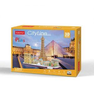 Пъзел 3D CobicFun City Line Paris