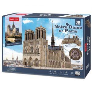 Пъзел 3D CobicFun Norte Dame De Paris Master Collection
