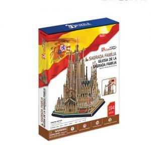 Пъзел 3D CobicFun Sagrada Familia