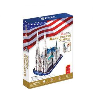 Пъзел 3D CobicFun St. Patrick's Catedral