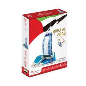 Пъзел 3D CubicFun Burj Al Arab