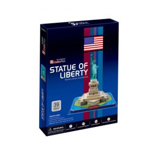 Пъзел 3D CubicFun Statue Of Liberty