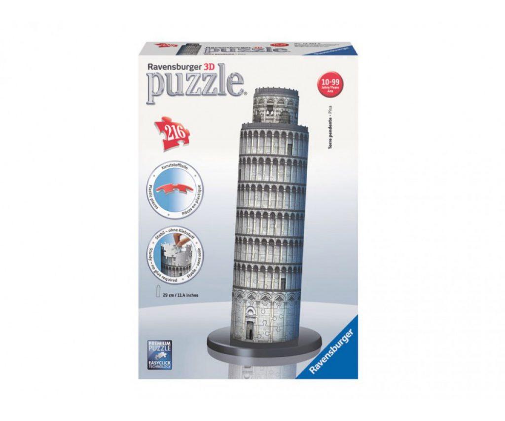 Пъзел 3D Ravensburger Кулата в Пиза