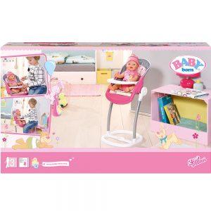 Столче за хранене на кукла Baby Born